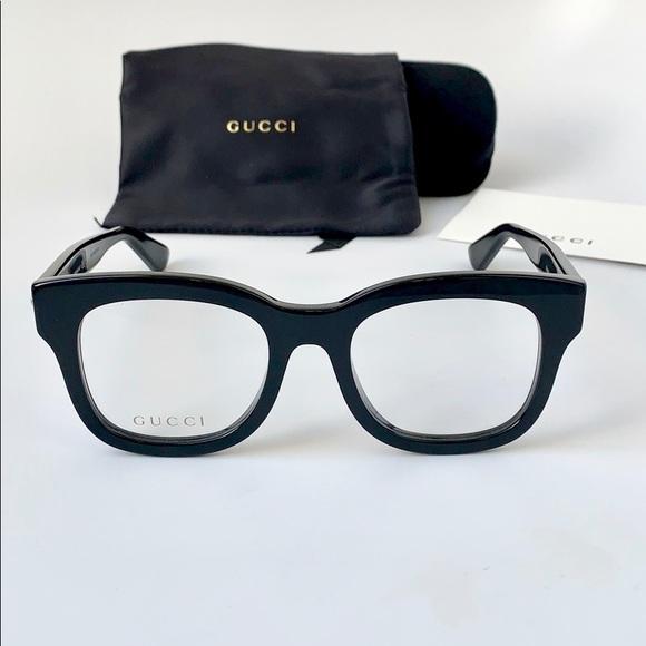 a1b67ce806 Gucci Women Eyeglasses Square Acetate GG0033O-001